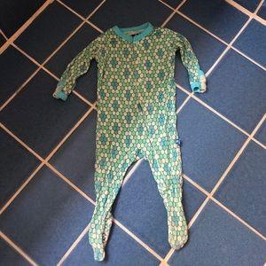 Kickee Pants Scale Mosaic Print Pajamas 0-3 M